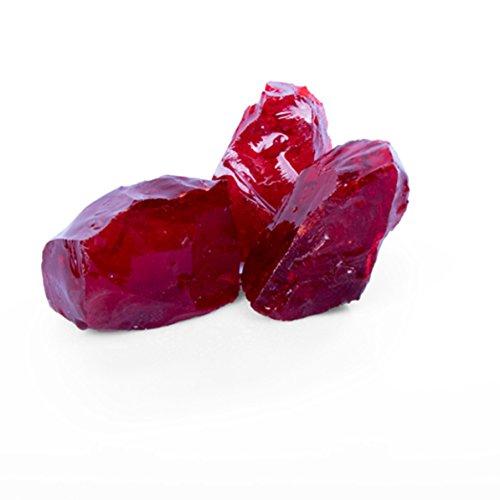 Glas Red GS, 50-120er Korn, Glas Gabionensteine von GSH - 20 kg/Sack