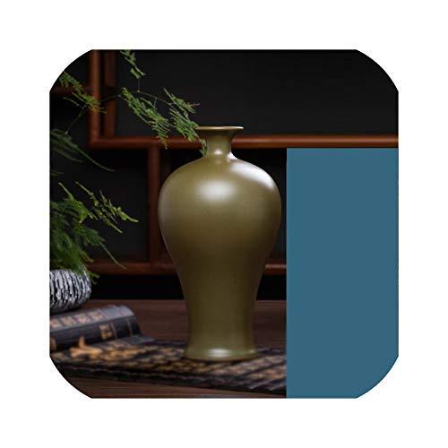 my cat Jingdezhen Keramik antike rote und Blaue kleine Vase Dekoration chinesische Wohnzimmer Weinschrank Dekoration Tisch Blumenvasen G
