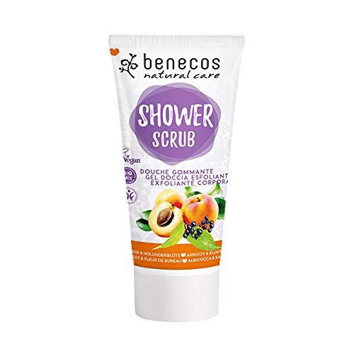 benecos Bio Shower Scrub Aprikose & Holunder (2 x 200 ml)