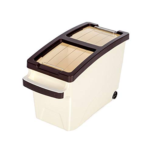 Buy Cheap Jlxl Pet Storage Bucket, Lager Capacity Grain Storage Box with Transparency Cover 2 Grain ...