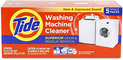 Washing Machine Cleaner by Tide, Washer Cleaning Tablets for Front and Top Loader Machines, , 5 Count Box