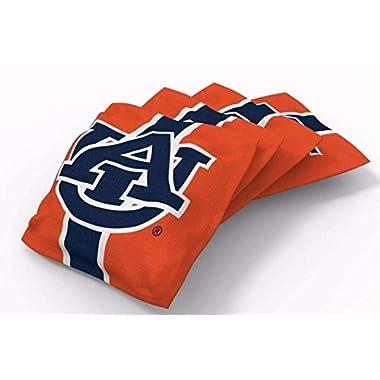 PROLINE 6x6 NCAA College Auburn Tigers Cornhole Bean Bags - Stripe Design (B)