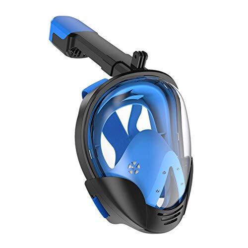 MHSHKS Máscaras De Buceo Máscara De Snorkel Máscara De Buceo Submarino Anti Niebla Máscara De Esnórquel De Cara Completa Equipo De Esnórquel Profesional De Natación para Adultos Y Niños