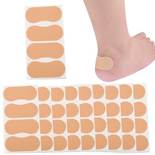 40 protectores de talón autoadhesivos de espuma antideslizante para el cuidado de los pies, impermeables, para evitar rozaduras y ampollas