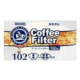 日本デキシー N コーヒーフィルター 102 100枚