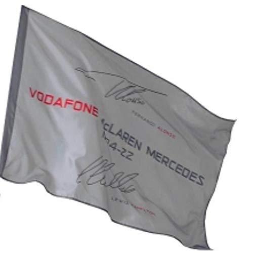 Flagge: Formel 1McLaren F1, Hamilton, NEU.