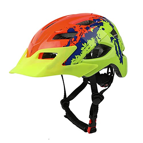 AFSDF Casco De Bicicleta para Adultos Casco De Bicicleta De Carretera De Montaña con Casco De Ciclismo De Ciclismo De Ciclismo para Hombres Mujeres,F