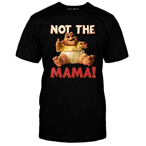 Not The Mama T Shirt Baby Sinclair Lovers Gift 90s Dinosaurs Lovers Movie Shirts Men T-Shirt (3XL, Black)