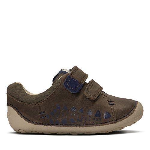 Clarks Tiny Trail, Chaussures Basses pour Garçon - Marron - Marron,