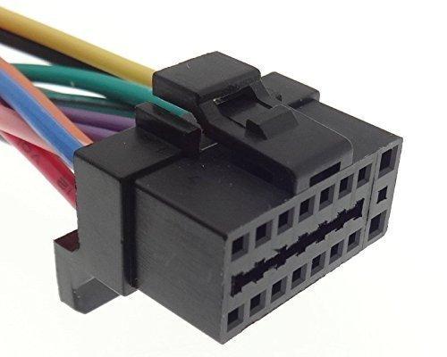 ALPINE (2) Autoradio Kabel Radio Adapter Stecker DIN Anschlusskabel Kabelbaum