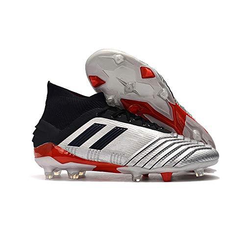 Zapatos De FúTbol Tela De Punto Impermeable Zapatos De FúTbol Zapatos De FúTbol con Pinchos Zapatos De Entrenamiento CéSped Hombres