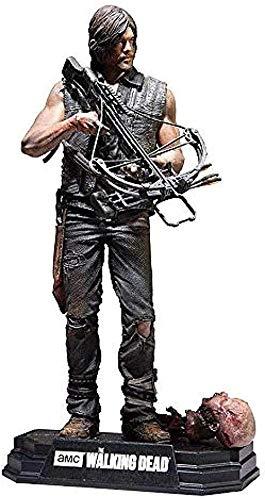 KIJIGHG Figuras de acción Walking Dead TV Daryl Dixon Figurine Anime Figure Figura de acción Modelo de Personaje 15cm
