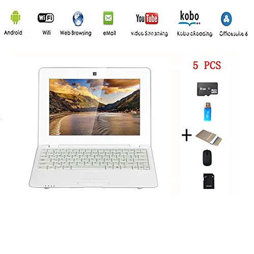 professionnel comparateur Anitech® Netbook Laptop Ultrabook Android 4.2 HDMI (WiFi-SD-MMC), Laptop Bag… choix