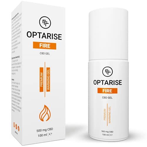 OPTARISE® wärmendes CBD Gel   gegen Verspannungen   Sport CBD Salbe für Muskelschmerzen & steifen Hals   durchblutungsfördernd   Aktiv Wärmegel für Regeneration   laborgeprüft