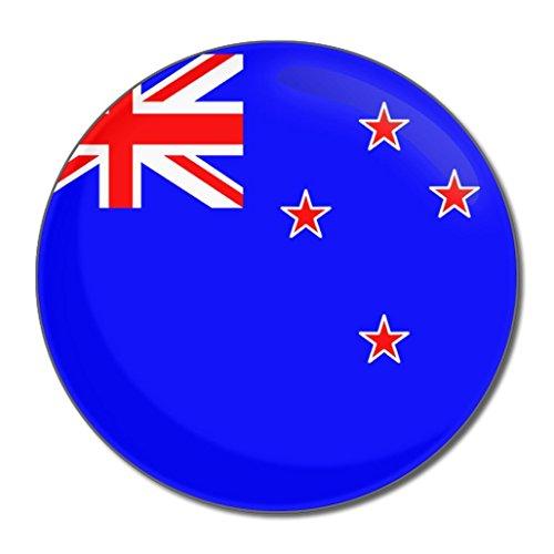 New Zealand Flag - Miroir compact rond de 77 mm