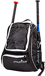 fd2b4fdaa Big enough for either youth or adult players, Athletico's baseball bag  comes in a huge range of colors. From classic black with red accents, ...