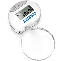 Smart Tape Measure - If you want your body measurements progress showing for graphing over time, this is the right smart body measuring tape with App for you. Easy to Read - We get that reading from small scale on those old tape measure can be exhaus...