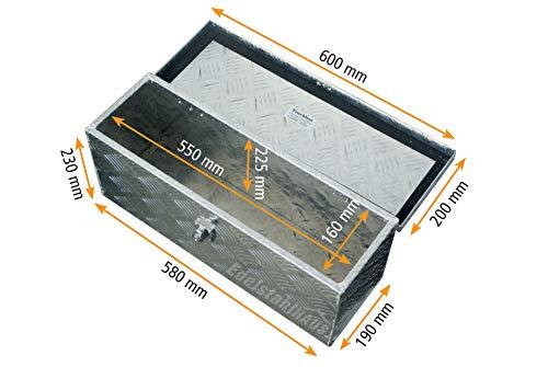 Truckbox D025 + MON2012 Montagesatz, Werkzeugkasten, Deichselbox, Transportbox - 5