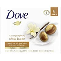 8-Count Dove Skin Shea Butter Soap