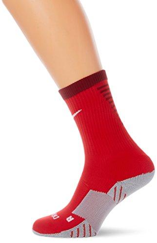 Nike Herren Matchfit Cushion Crew-Team Socken -Mehrfarbig (university red / team red / white) , Small