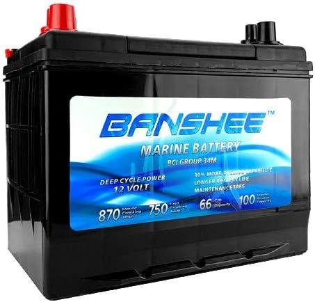 Marine Starting Battery Replaces 特売 SC34M Group 8006-006 34 超安い