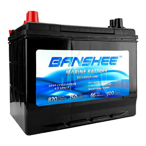 Marine Battery Group 34 Replaces 34M, 8016-103, SC34DM