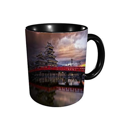 Hdadwy Matsumoto Castle G Keramikbecher Kaffee Tee Geschenk Geschenk Weihnachten Weihnachten 11oz