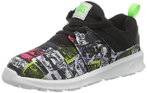 DC Shoes Heathrow TX Se, Sneakers Basses garçon, Gris (Multi MLT), 36 EU