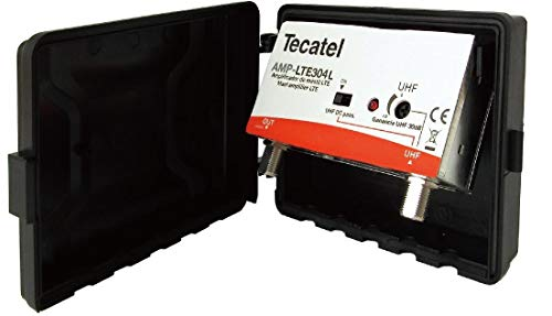 Amplificador de Mástil 1e/1s UHF 30dB LTE 5G