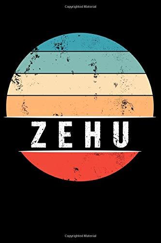 ZEHU: 100 Pages 6 'x 9' | Dot Graph Paper Journal Manuscript • Planner • Scratchbook • Diary