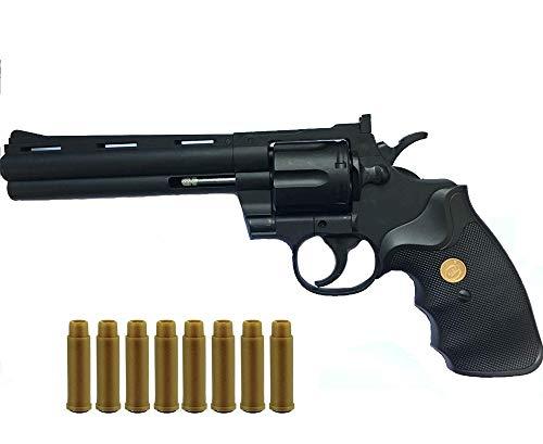 Softair Revolver Kalber 6 mm BBS - Airsoft Pistole + Munition und Patronen - Magazine - <0,5 Joule - Soft Air ab 14 Jahren - Originalgetreu 1:1
