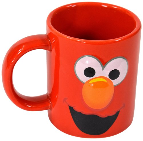 Sesamstraße 'Elmo' 2D Tasse