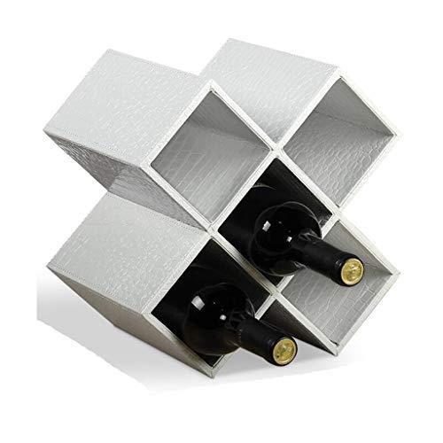 Porte-bouteilles De Vin Européen Décoration Maison En Bois Massif Créatif Minimaliste Moderne Salon Armoire À Bouteilles Décoratif Couleurs Multiples, 5 Grilles, 8 Grilles
