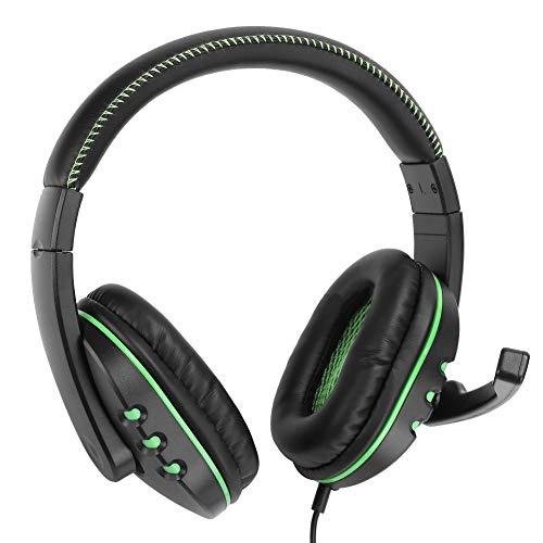 Weikeya Verde Juego de Azar Auriculares, Mm Interfaz Diseño Aire Anillo Cámara Oído Auriculares