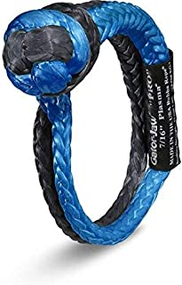 Bubba Rope Gator-Jaw 176745PRO Synthetic Soft Shackle (52,300LB Breaking Strength) Blue & Black