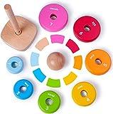 Zoom IMG-2 rolimate giocattolo impilatore anelli in