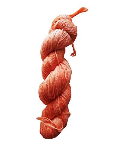 Bamboo Fine 400 - Ovillo de lana para calcetines teñida a mano, 100 g/400 m, 60% lana, 25% bambú de viscosa y 15% poliamida (lana virgen australiana de 24 micras) -Ba0048
