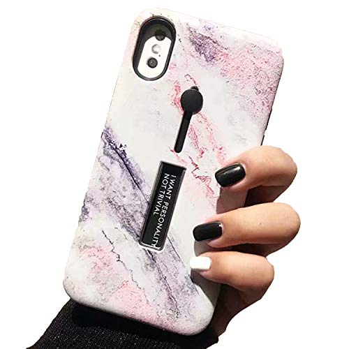 for iPhone 7 8 X 6 6s 6 Plus Case Marble Silicon Ring Phone Cases for iPhone 8 Case Hide,3,Plus 8