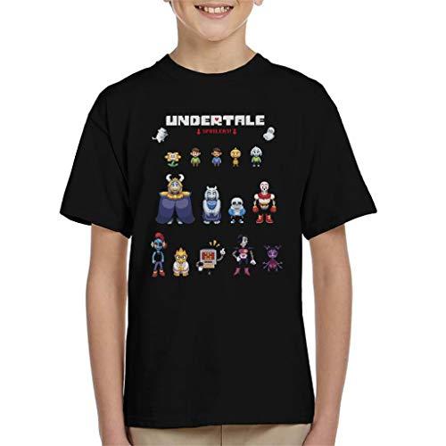 Cloud City 7 Undertale Spoilers Kid's T-Shirt