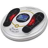 FTNJG Estimulador Circulatorio Eléctrico, Multifunción Masajeador de Pies con Control Remoto 25 Modos 99 Niveles Intensidad para Mejorar la Circulación y Aliviar el Dolor
