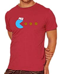 Pac-Man Cookie Monster T-shirt