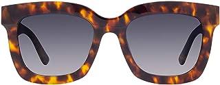 DIFF Eyewear - Carson - Womens Designer Square Sunglasses - 100% UVA/UVB [Polarized]