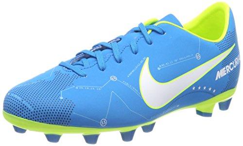 Nike Jr Mercurial Victory VI SX AG-PRO, Scarpe da Calcio Unisex-Bambini, Blu (Blue Orbit/White-Blue Orbit-Armory Navy), 33 EU