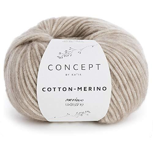 DARK GOLDEN COTTON-MERINO 105 m Wolle CONCEPT von Katia - 50 g // ca 118