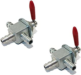 The ROP Shop (2) New Two-Way Cut-Off Fuel VALVES Exmark 1-633347 Hustler 745059 Scag 482212