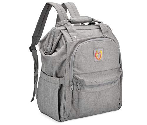 LoveLi-Bi Diaper Bag Backpack: Large Diaper Bags for Baby Girls Boys Toddler Twins Mom Dad with Changing Pad Mat Waterproof  Mochilas Cosas Para Bebes