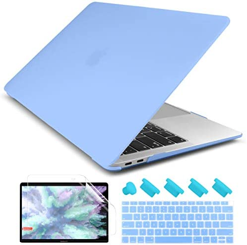 Dongke Smooth Matte Frosted Hard Shell Cover for MacBook Air 13 Inch with Retina Display fits product image