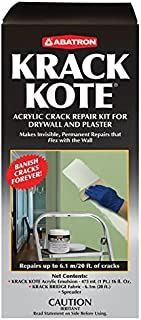 Krack Kote - Crack Repair Kit for Drywall and Plaster