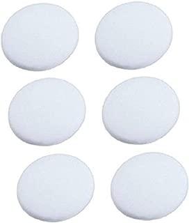 Door Handle Bumper, Silicone Doors Knob Wall Shield, Self Adhesive Round Soft Rubber, Door Stopper Pads, Pack of 6 Pieces, Diameter 1.6