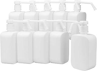 GURE スプレーボトル 詰め替え 軽量 大容量 噴霧 ミスト プッシュタイプ (10個セット)